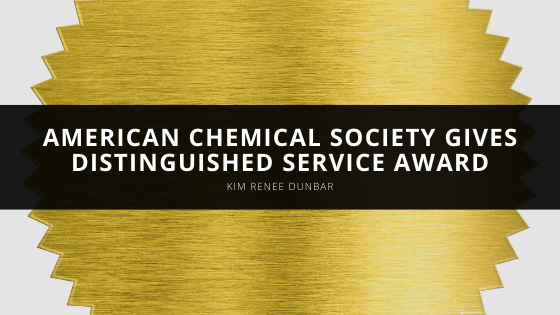 American Chemical Society Bestows Kim Renee Dunbar with Distinguished Service Award