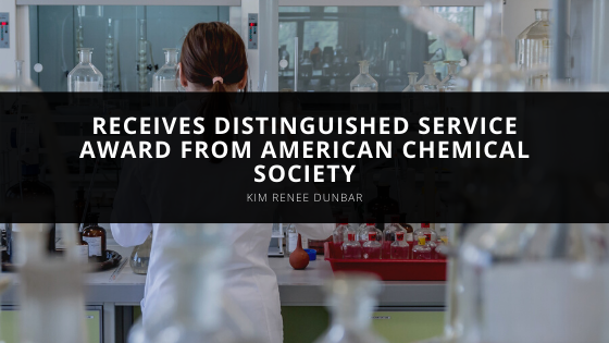 Kim Renee Dunbar Receives Distinguished Service Award from American Chemical Society